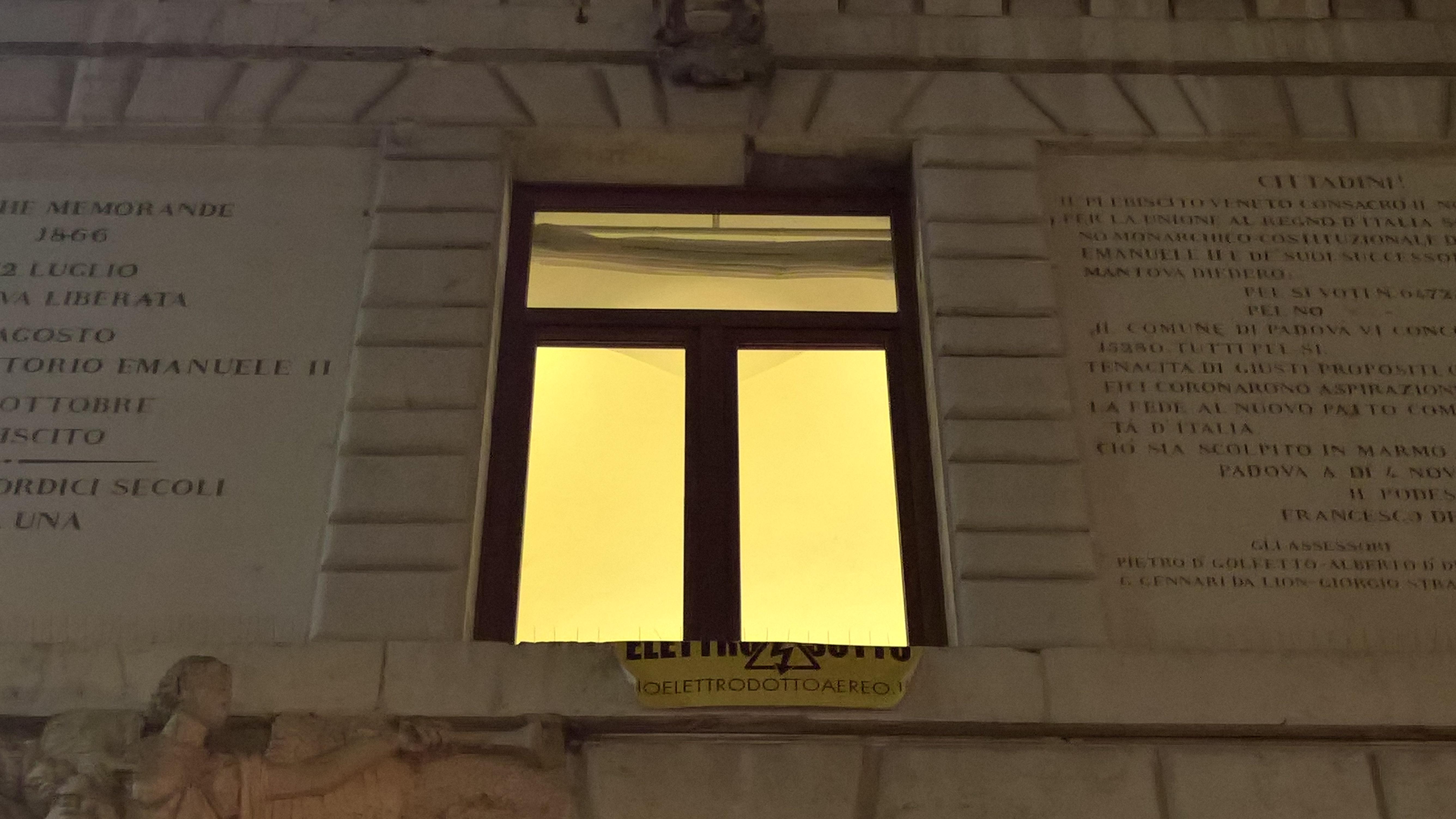 Padova anche il sindaco giordani e il vicesindaco lorenzoni vogliono l interramento dell - La finestra padova ...